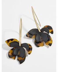 BaubleBar - Orchid Resin Drop Earrings - Lyst