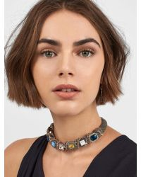 BaubleBar - Backstage Pass Collar Necklace - Lyst