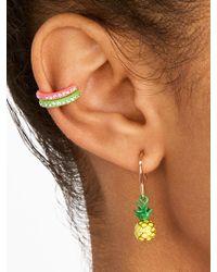 BaubleBar - Pineapple Drop Earrings - Lyst