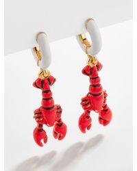 BaubleBar Laguna Drop Earrings - Red