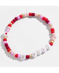 BaubleBar Amour Bracelet - Red