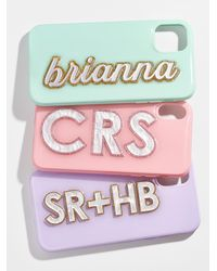 BaubleBar Clear As Day: X Omc Iphone Case - Multicolour