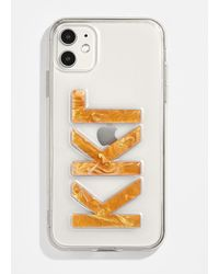 BaubleBar X Omc Iphone Case: Greek - Orange
