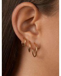 BaubleBar Spillo Earrings - Metallic