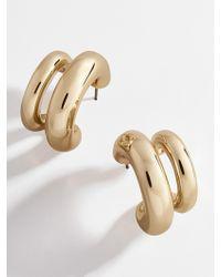 BaubleBar - Havah Huggie Hoop Earrings - Lyst