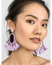 BaubleBar - Corsica Tassel Earrings - Lyst
