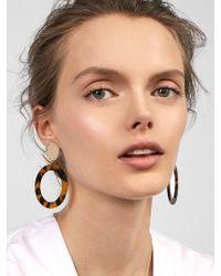 BaubleBar - Devinne Resin Druzy Hoop Earrings - Lyst