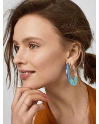 BaubleBar - Dessa Resin Hoop Earrings - Lyst