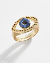 BaubleBar Enzo Ring - Metallic