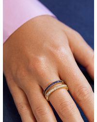 BaubleBar Micro Alidia Cubic Zirconia Ring - Multicolor