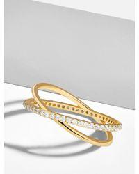 BaubleBar - Voglia 18k Gold Plated Ring - Lyst