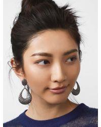 BaubleBar - Davia Hoop Earrings - Lyst