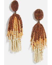 BaubleBar Iberis Drop Earrings - Metallic