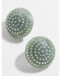 BaubleBar Beta Button Stud Earrings - Multicolour