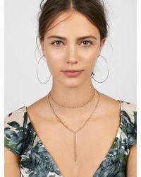 BaubleBar - Skyler Layered Necklace - Lyst