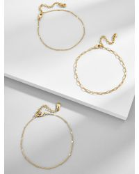 BaubleBar - Ariza Anklet - Lyst