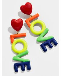 BaubleBar Reese Drop Earrings - Multicolour