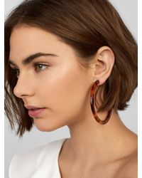 BaubleBar - Samanda Resin Hoop Earrings - Lyst