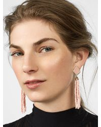 BaubleBar Toryn Tassel Earrings - Black