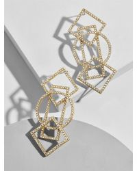 BaubleBar - Geometric Drop Earrings - Lyst