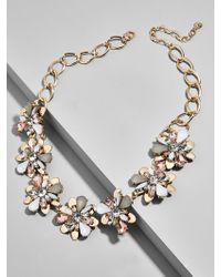 BaubleBar - Fiorella Flower Statement Necklace - Lyst