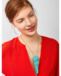 BaubleBar - Rishita Tassel Pendant Necklace - Lyst