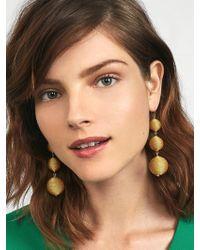 BaubleBar - Shimmer Crispin Ball Drop Earrings - Lyst