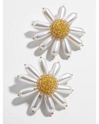 BaubleBar Daisy Flower Button Stud - Multicolour