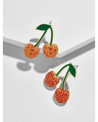 BaubleBar Cherry Drop Earrings - Multicolour