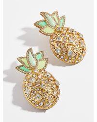 BaubleBar Piña Stud Earrings - Multicolor