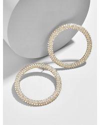 BaubleBar - Clarissant Hoop Earrings - Lyst