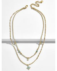 BaubleBar - Tempus Layered Necklace - Lyst