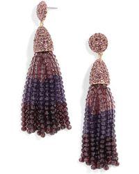 BaubleBar - Gem Piñata Tassel Drops-purple Ombre - Lyst