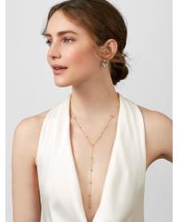 BaubleBar - Silvia Cubic Zirconia Y-necklace - Lyst