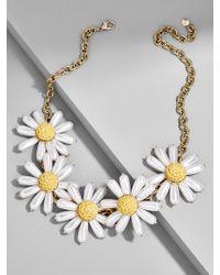 BaubleBar - Daisy Flower Statement Necklace - Lyst