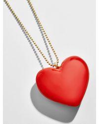 BaubleBar - Alvena Heart Pendant Necklace - Lyst