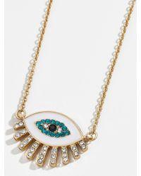 BaubleBar Athena Pendant Necklace - Metallic