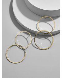 BaubleBar - Palace Hoop Earrings - Lyst