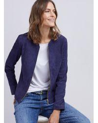 Baukjen - Harriet Suede Jacket - Lyst