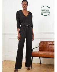 Baukjen Rosalind Ecoverotm Jumpsuit To Rent - Black