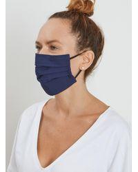 Baukjen Non Medical Face Masks - 2 Pack - Adult - Blue
