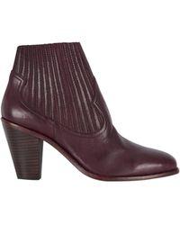 Baukjen - Ash Leather Ilona Ankle Boot - Lyst