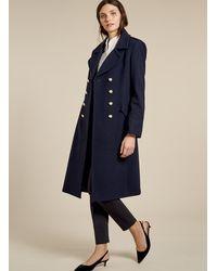 Baukjen Blair Long Coat - Blue