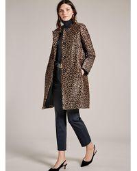 Baukjen - Cristina Leopard Coat - Lyst