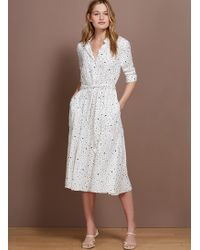 Baukjen Mia Shirt Dress - White