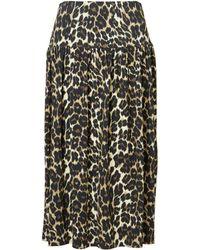 Baukjen Abigail Leopard Skirt - Multicolour