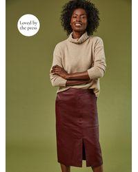 Baukjen Carmen Leather Skirt - Multicolour