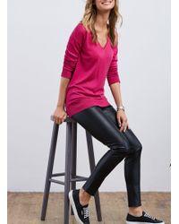 Baukjen Marion V-neck Jumper - Pink