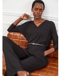Baukjen Rosalind Ecoverotm Jumpsuit - Black