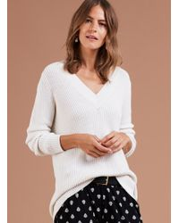 Scarlett Chenille Sweater in Beige Cacharel Sale Best Seller Sale Pick A Best Pre Order Cheap Online The Best Store To Get Cheap Manchester Great Sale 9EH6Vbw